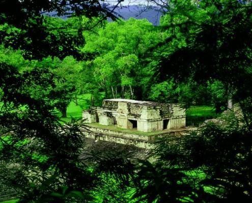 Honduras wakacje. zabytki Majów