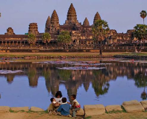 Kambodża wycieczki objazdowe świątynie Angkor Wat