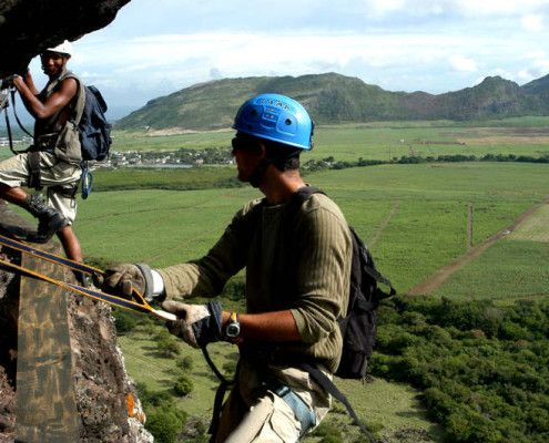 Mauritius dla aktywnych climbing