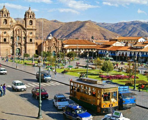 Peru atrakcje Cuzco