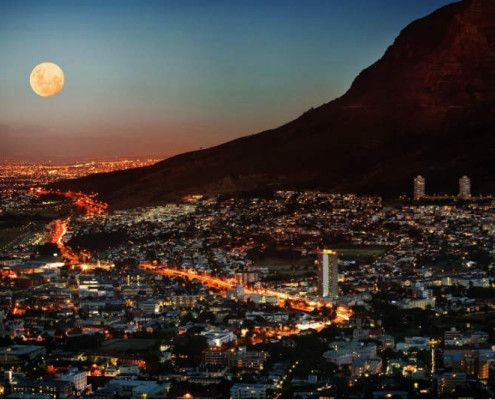 RPA wakacje Cape Town