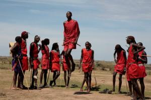 Kenia atrakcje Masajowie