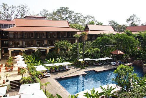 Kambodża hotel-Victoria-Angkor