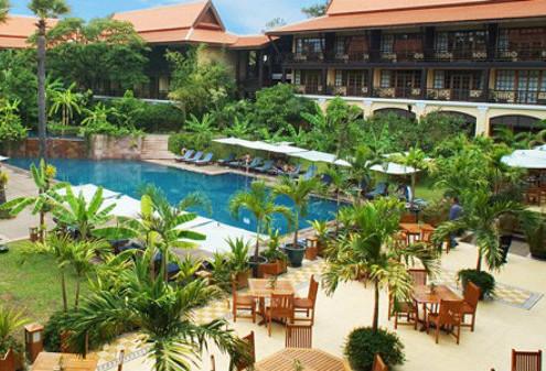 Ekskluzywne Wczasy Kambodża hotel-Victoria-Angkor