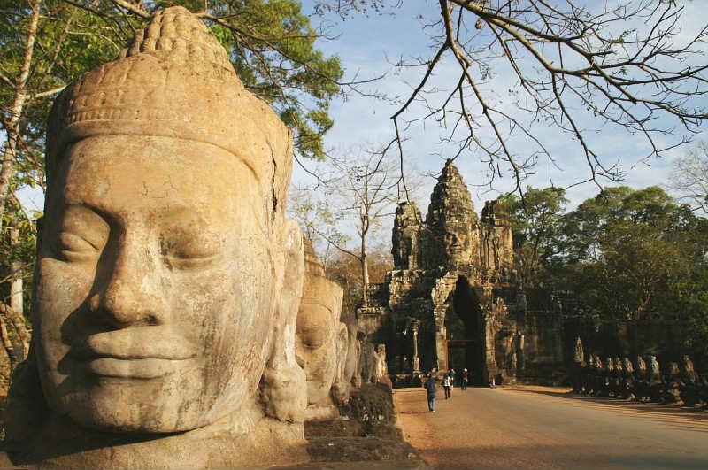 Kambodża wycieczki indywidualne Atrakcje Angkor thom