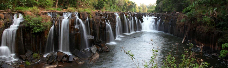 Laos wycieczki wodospady