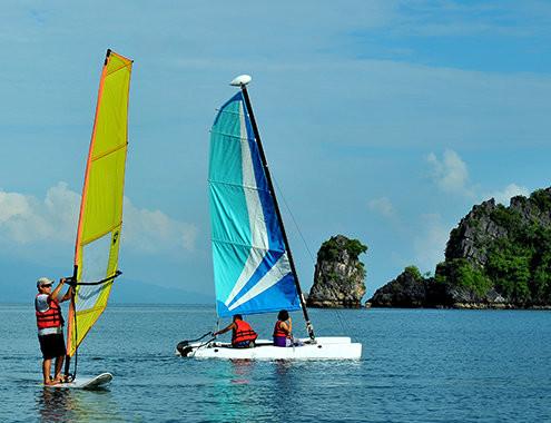 Wczasy Wycieczki Malezja-Hotel-Tanjung-Rhu-Langkawi Sporty wodne