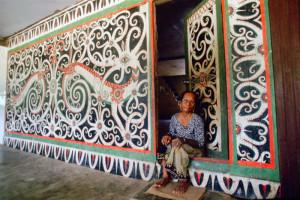 Malezja atrakcje Sarawak longhouse