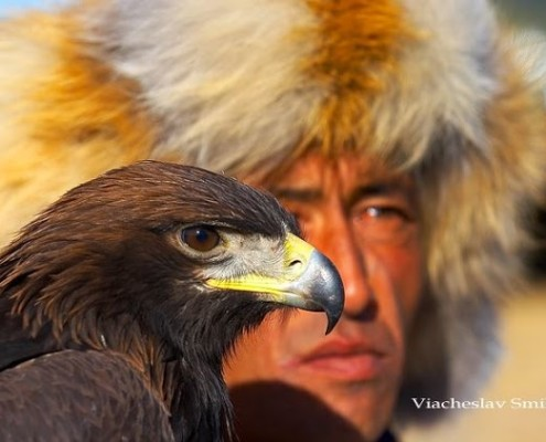 Mongolia wczasy Festiwal Orla Golden Eagle Festival