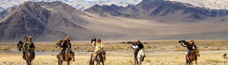 Mongolia wakacje Golden Eagle Festiwal