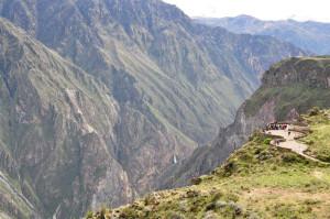 Peru atrakcje kanion Colca.