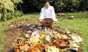 Peru atrakcje Pachamanca