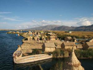 Wakacje Peru atrakcje Wyspy Uros