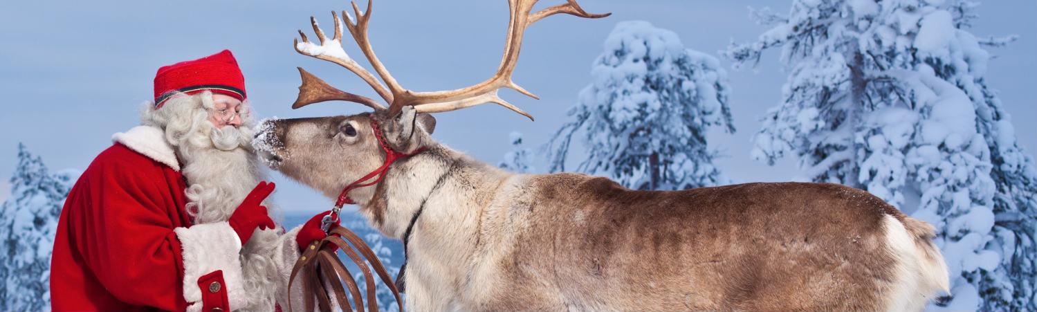 Laponia spotkanie z Mikołajem