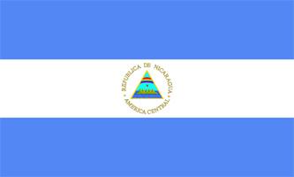 Flaga Nikaragua Pogoda, waluta, wiza,szczepienia i inne informacje praktyczne
