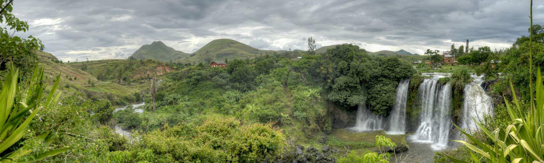 Madagaskar wycieczki wodospad Lily