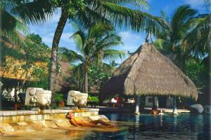 Romantyczny hotel Bali