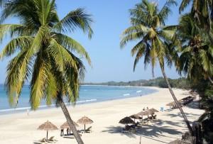 Birma plaże