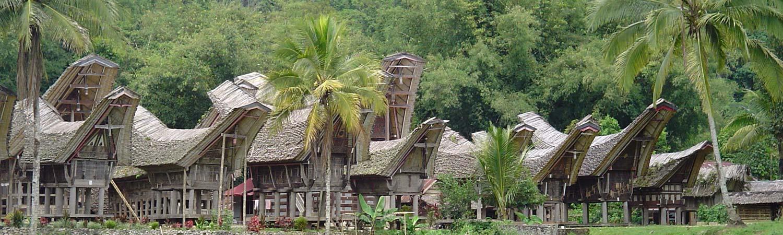 Indonezja wycieczki. Niezapomniane wakacje Traditional house