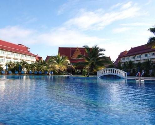 Podróże poślubne Kambodża hotel sokha