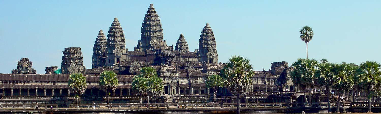 Kambodza wycieczki Monks Angkor Wat