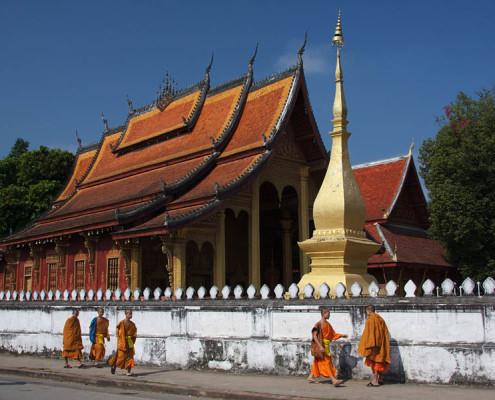 Laos wycieczki objazdowe Luang Prabang