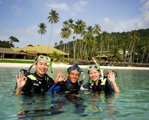 Malezja nurkowanie egzotyczne wakacje hotel Berjaya Resort Redang