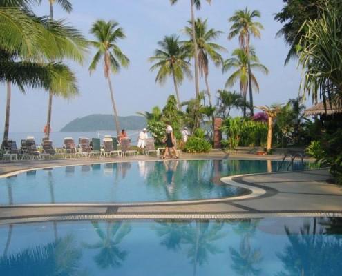 Malezja aktywne wakacje Hotel Frangipani resort. malezja wyjazdy incentive dla firm