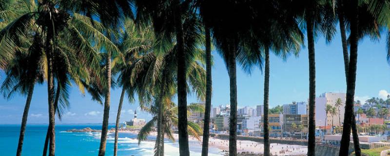 Brazylia Wczasy.  atrakcje Bahia