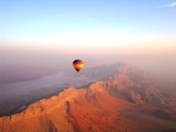 Emiraty Arabskie wycieczki loty balonem Dubai