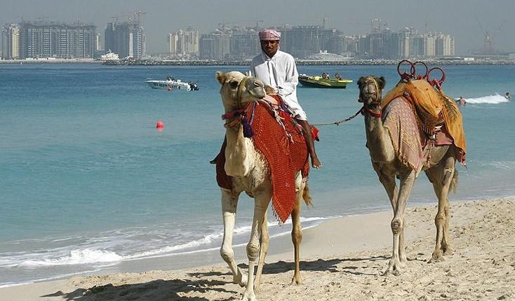 Emiraty Arabskie wycieczki Dubai plaża tradycja i nowoczesność