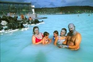 Islandia wycieczka Błękitna Laguna Odnowa Biologiczna Islandia