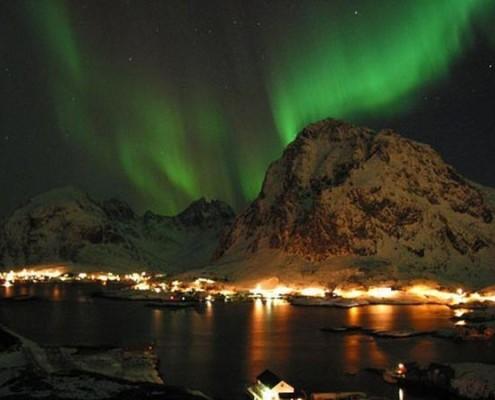 Islandia wakacje zorza polarna