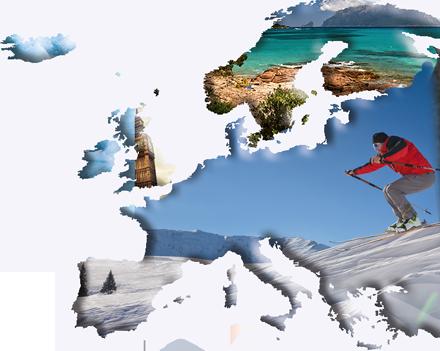Europa wycieczki narty