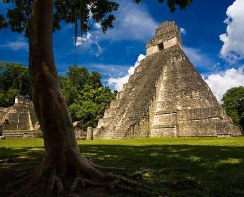 Egzotyczne wycieczki Gwatemala. Wakaacje z TOP TRAVEL. Majowie piramidy