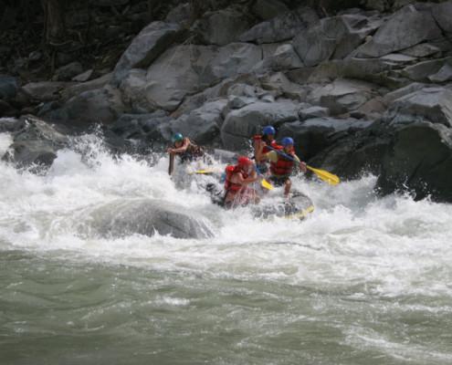 Honduras rafting. wycieczki wakacje podróże indywidualne z TOP TRAVEL