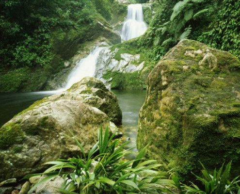 Wodospady Copan Honduras wycieczki wakacje podróże indywidualne z TOP TRAVEL