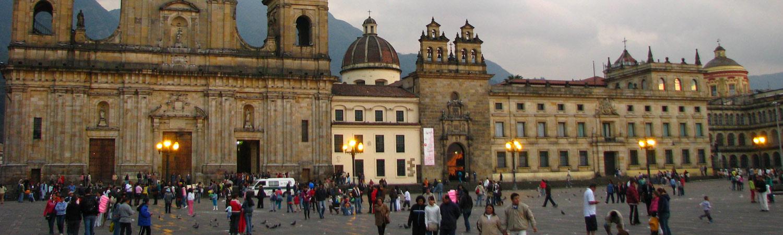 Kolumbia Plaza de Bolívar Bogota