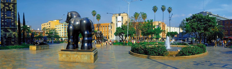 Kolumbia plaza botero wycieczki
