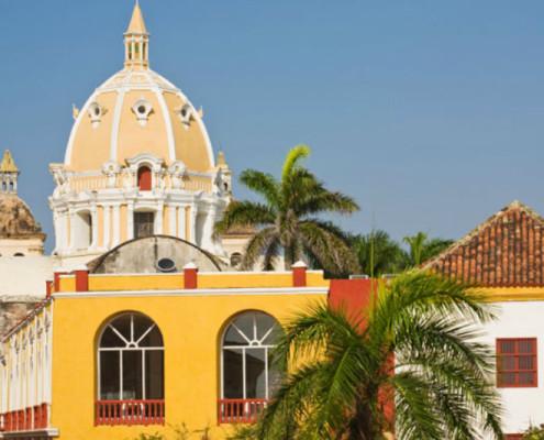 Kolumbia wakacje architektura