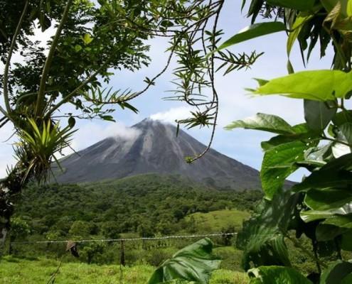 Wycieczki Kostaryka wulkan Arenal