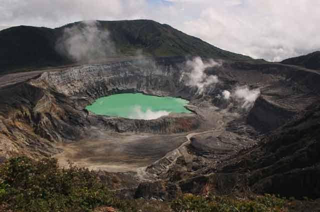Kostaryka podroze wulkan Poas