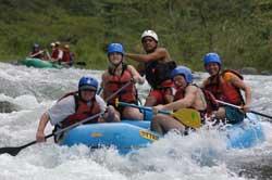 Wycieczki Kostaryka Arenal rafting