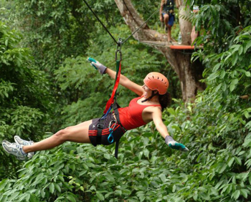 Kostaryka Conopy Tour Zip line