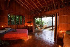Kostaryka lodge Selva Bananito