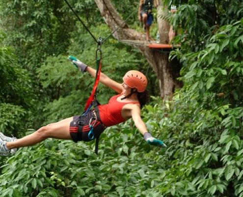 Kostaryka wycieczki wspinaczki canopy tour
