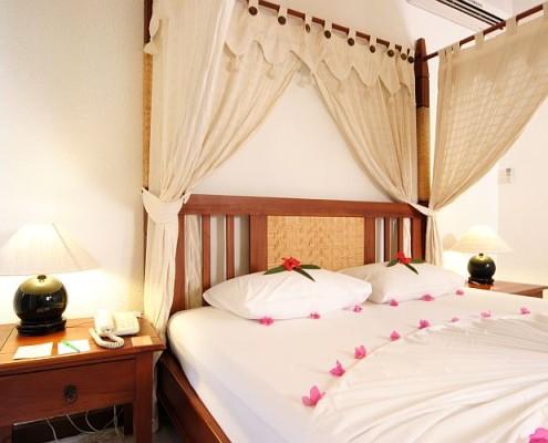 Malediwy wakacje hotel bandos sypialnia