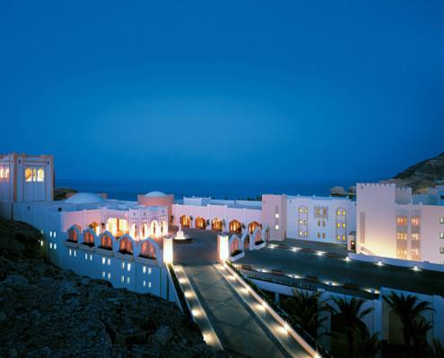 Oman Al Bandar Hotel Entrance