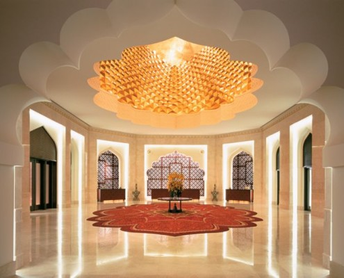 Oman Al Bandar Hotel Lobby