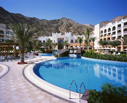 Oman Al Waha Hotel Pool